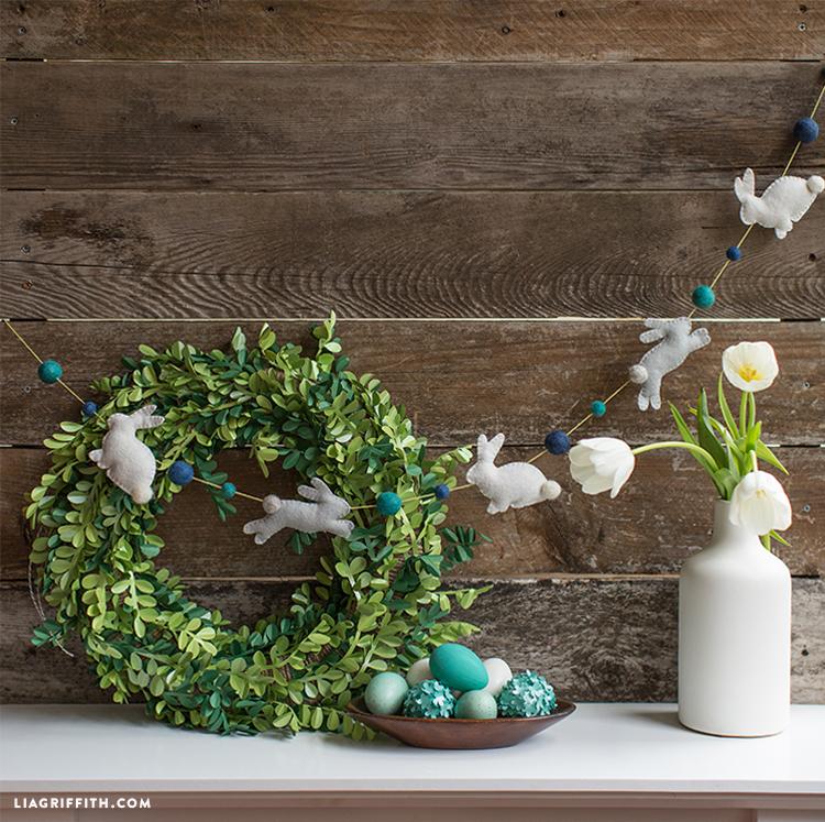 Felt Garland Easter Craft