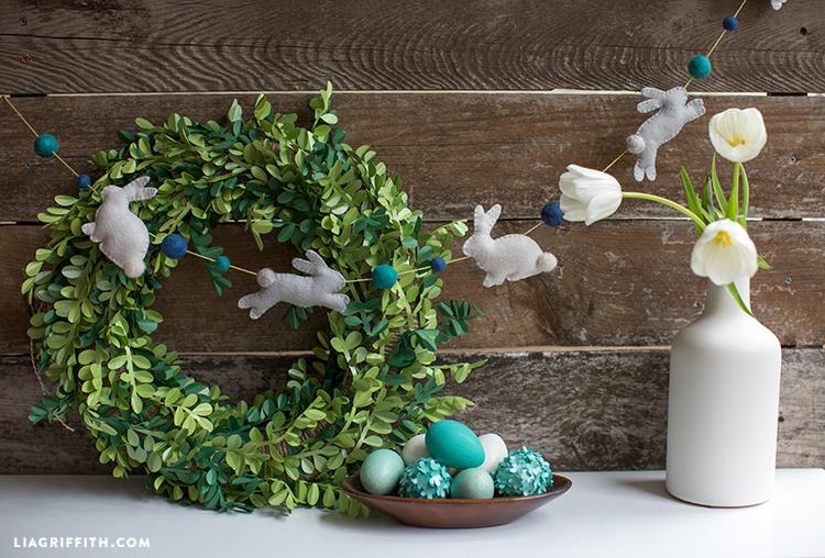 Easter Craft Garland