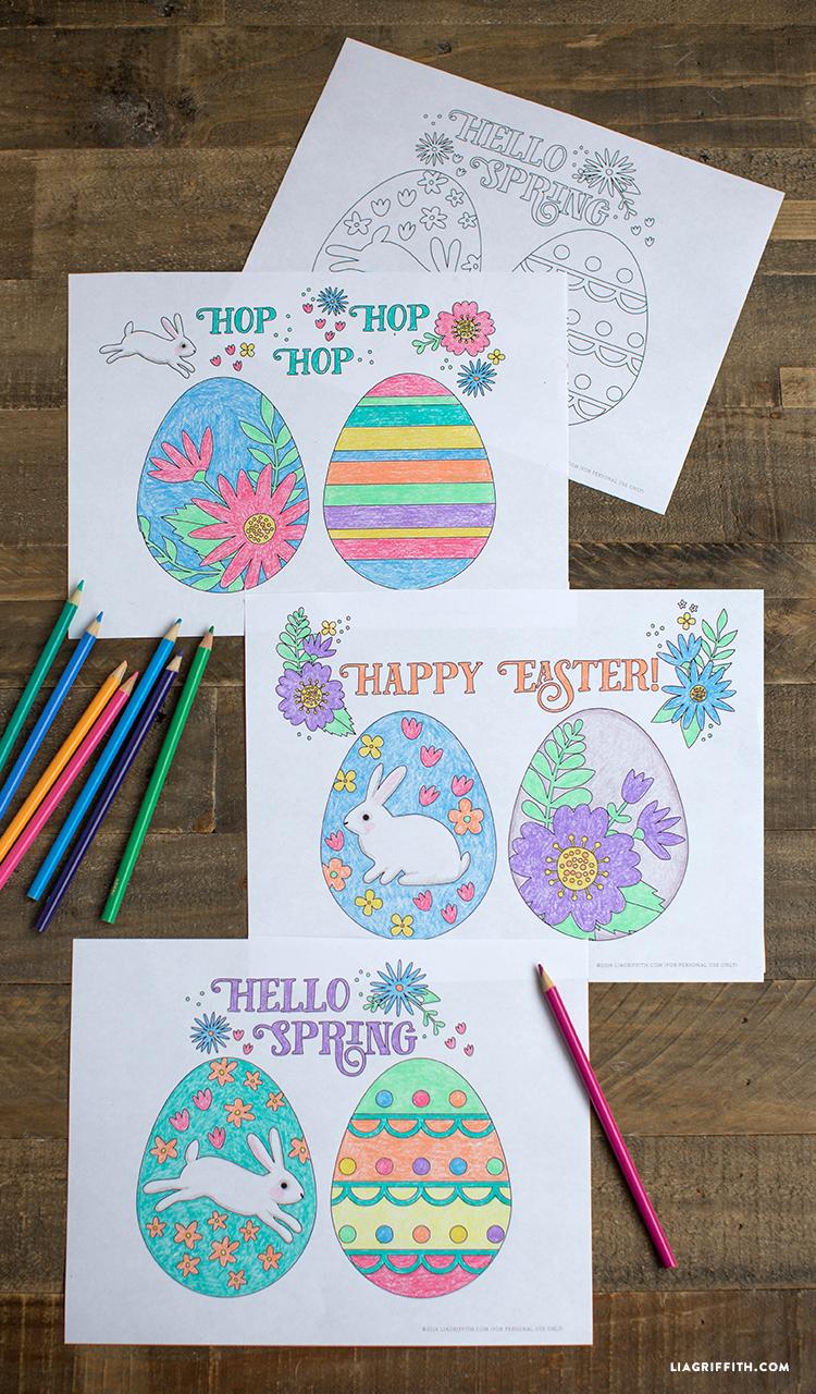 EasterColoringSheets