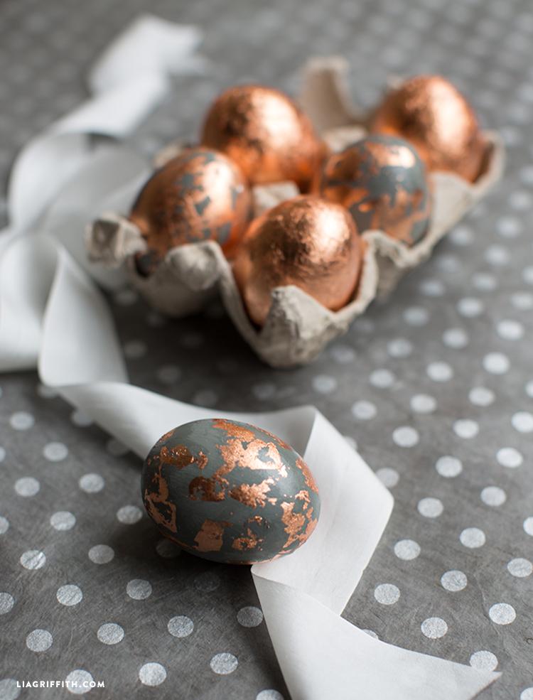 Copper Eggs
