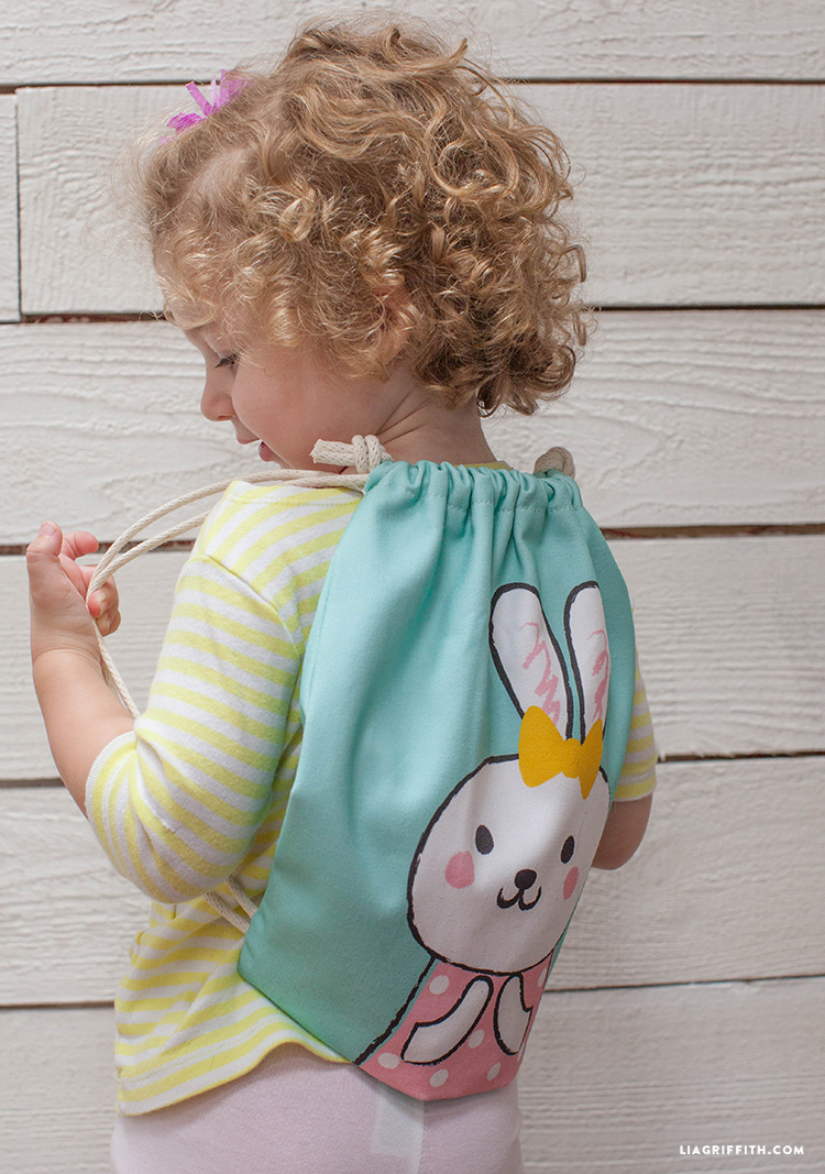 How To Make A Drawstring Backpack Lia Griffith