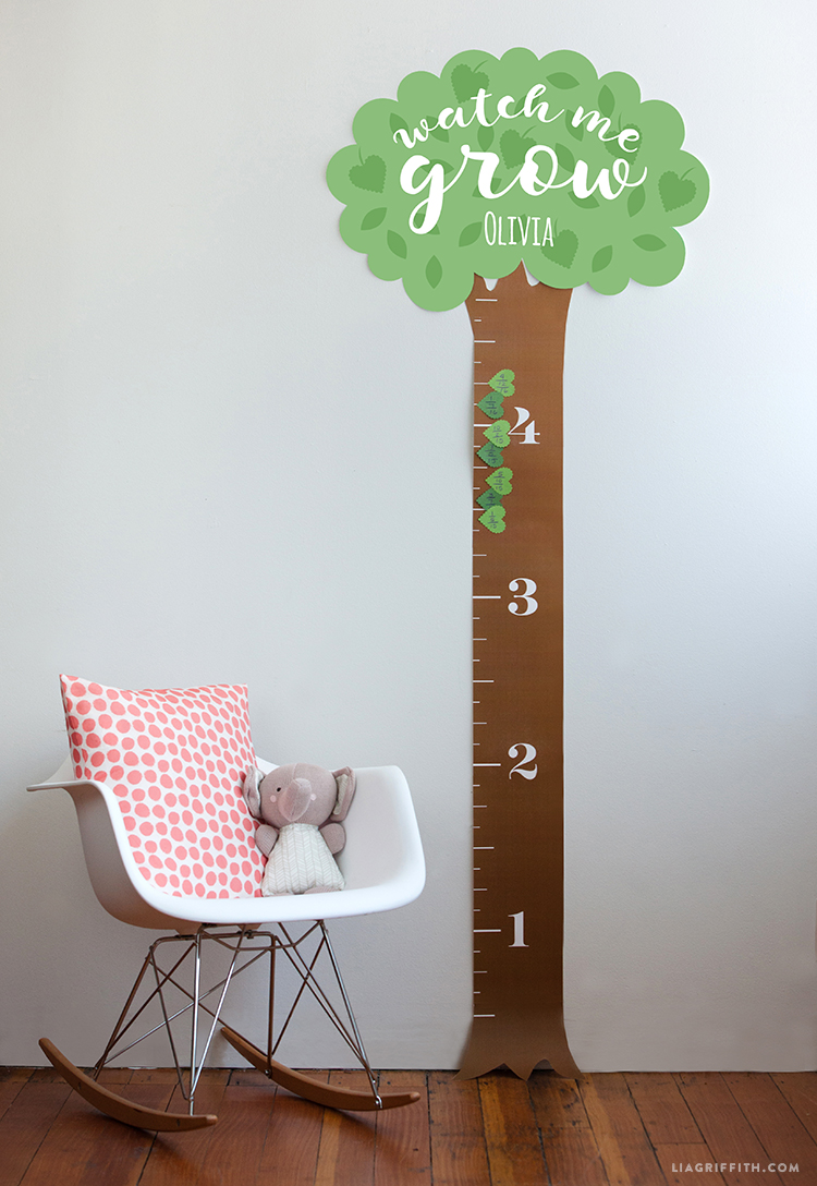 printable height chart