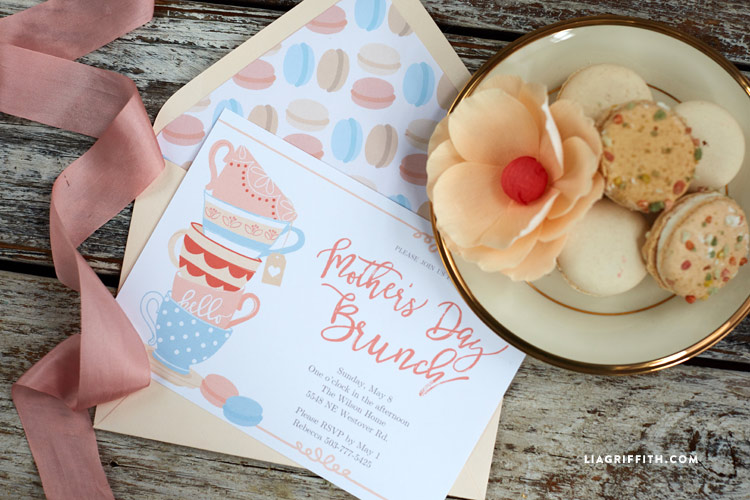 printable mother's day invitations