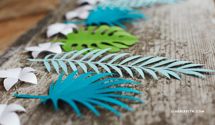 Tropical Paper Garland