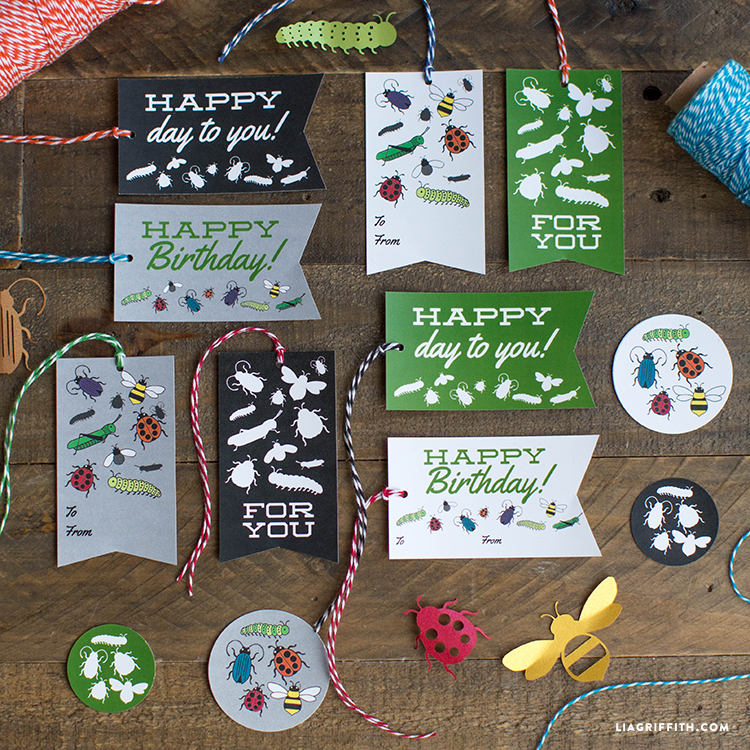 little critters birthday gift tags lia griffith