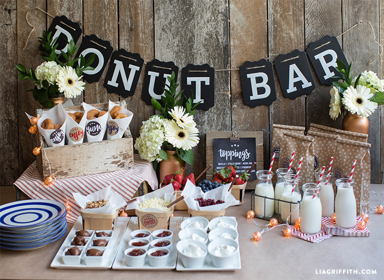 Host A Summer Donut Bar Lia Griffith