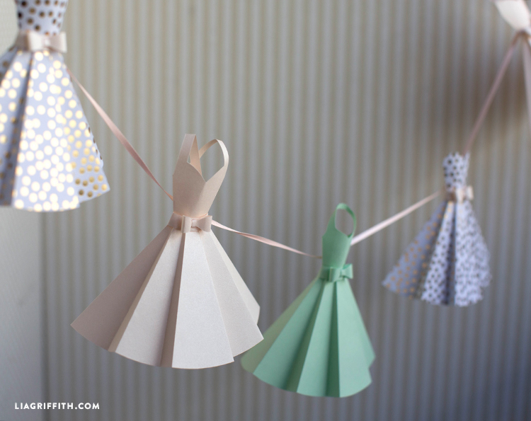 How To Make An Origami Dress Craft Tutorial