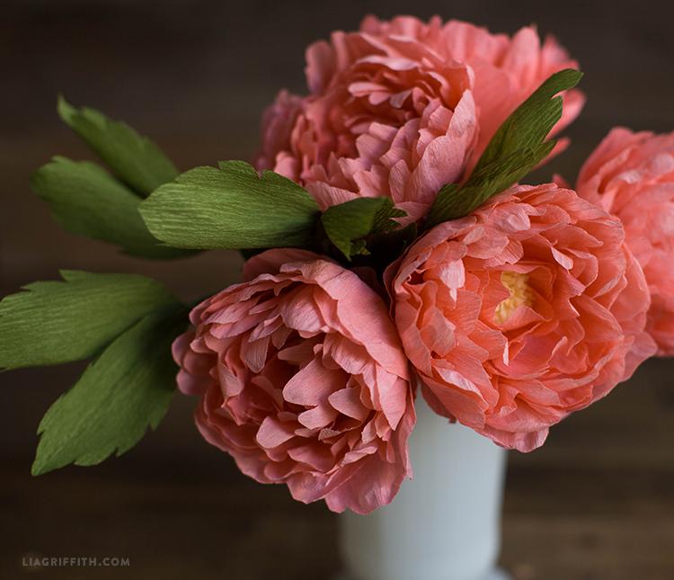 Pink Sarah Peony Bouquet