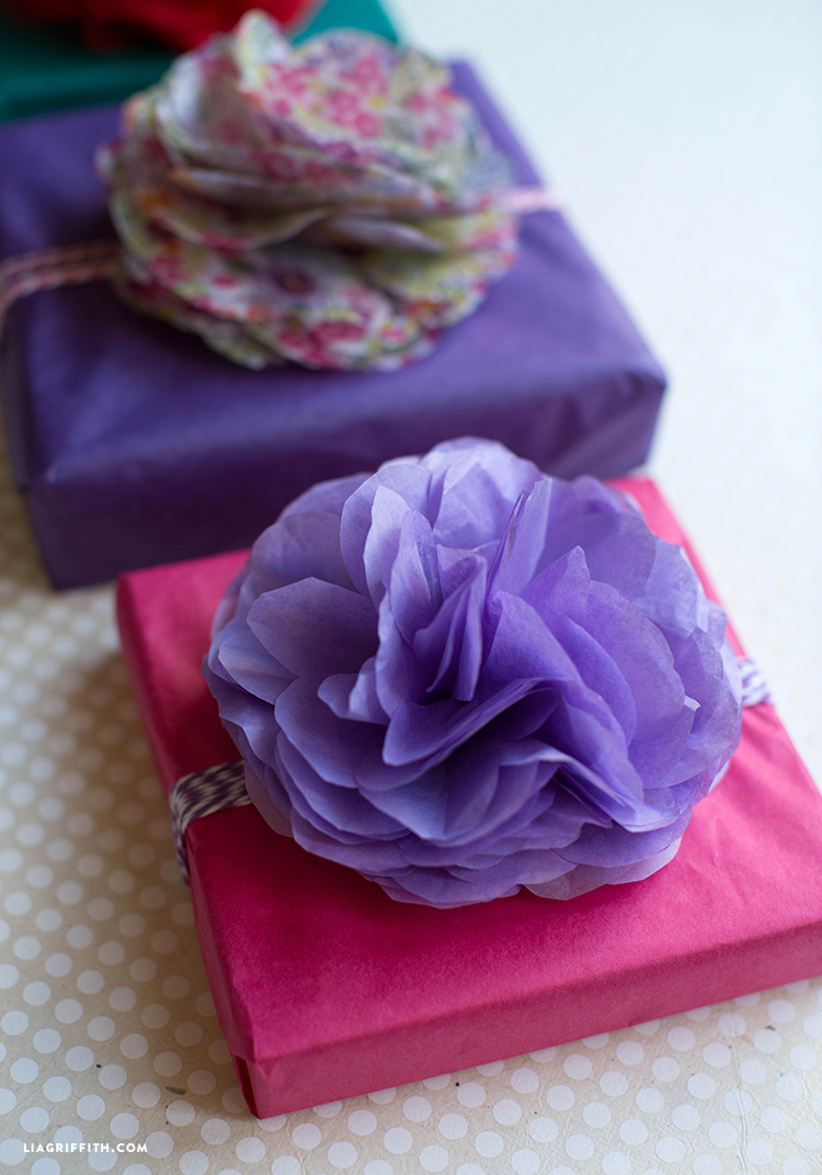 Tissue Paper Gift Topper Lia Griffith