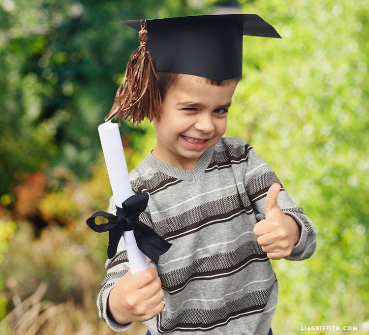 Printable Graduation Diploma - Lia Griffith