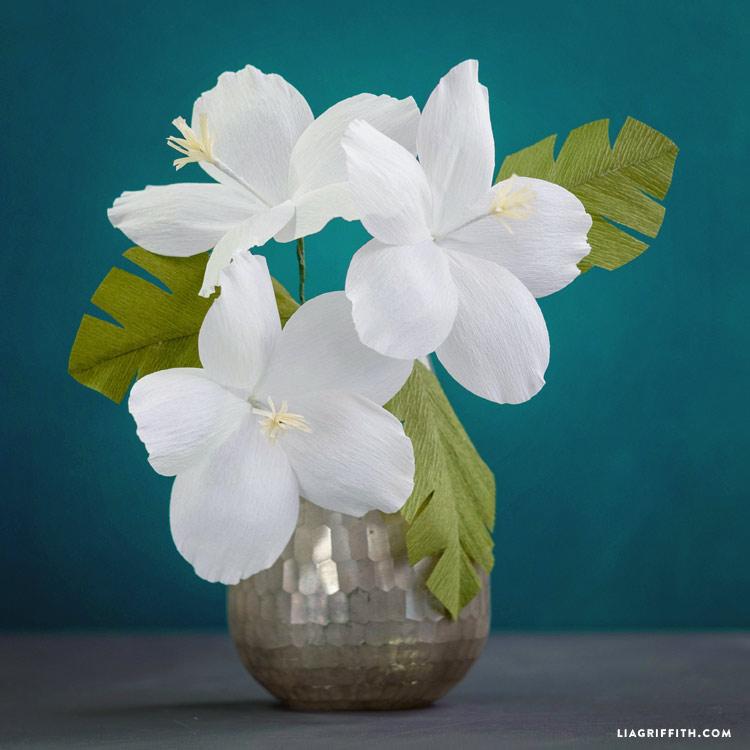 Crepe Paper Hibiscus Lia Griffith
