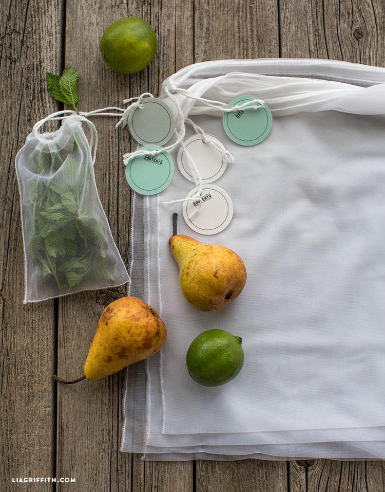 Reusable Produce Bags Lia Griffith