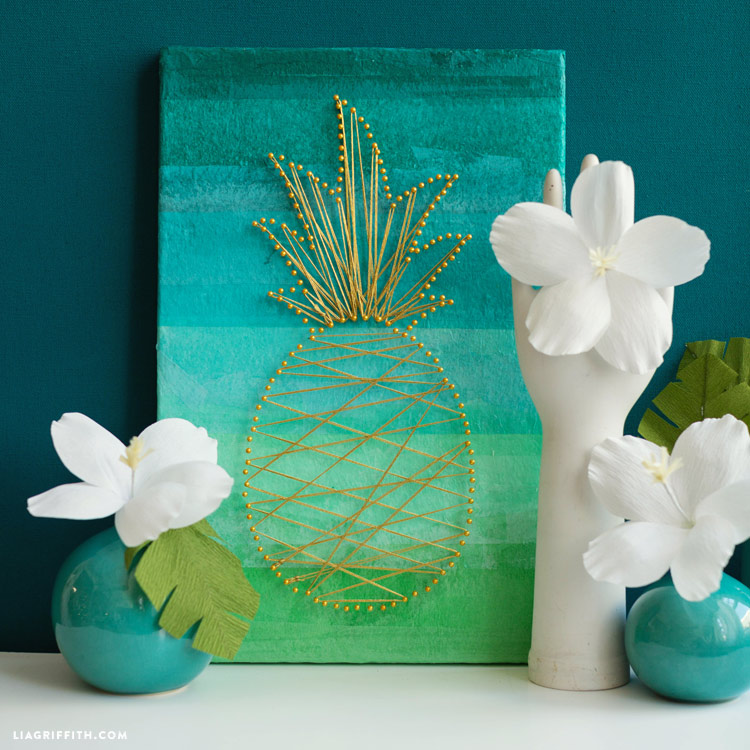 Tropical Wall Art SponsoredBy_FloraCraft