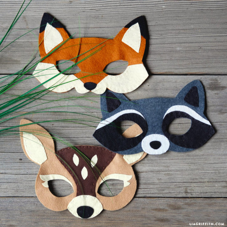 Felt Woodland Masks - Lia Griffith 9eb91cb8c6e