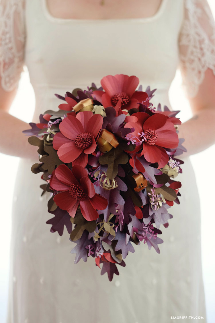 Paper Wedding Bouquets