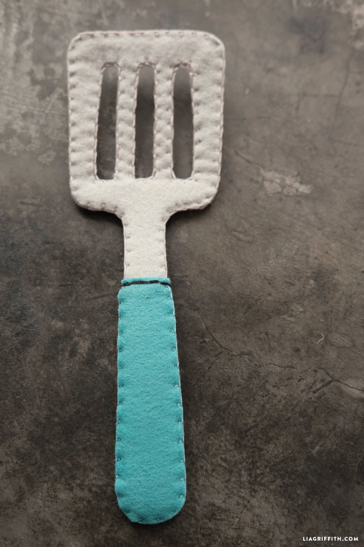 Felt Kitchen Utensils Lia Griffith