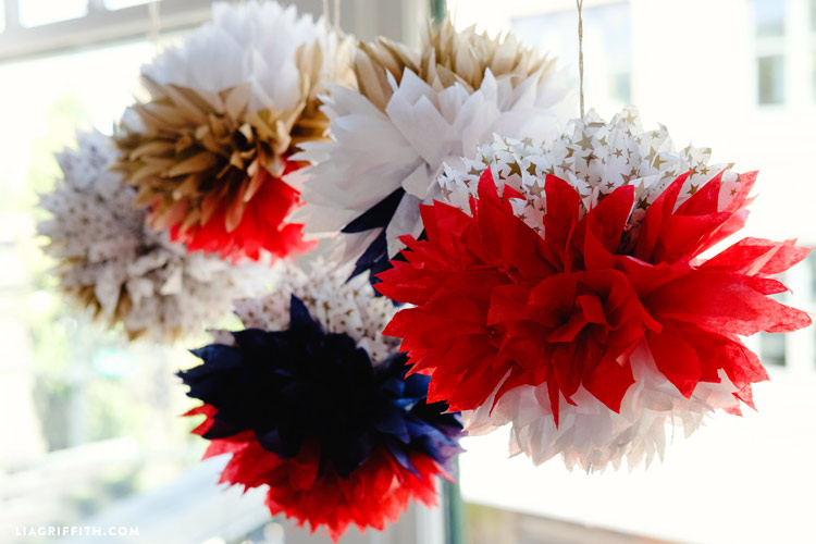 DIY Fourth of July Party Decor