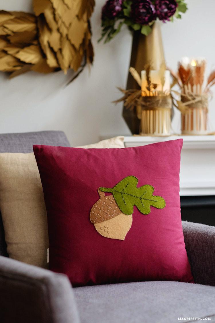 Acorn Pillow