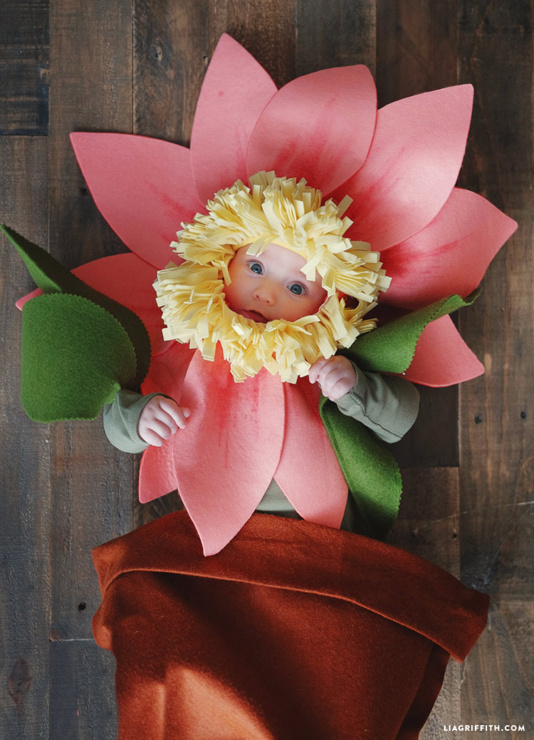 flower baby Halloween costume
