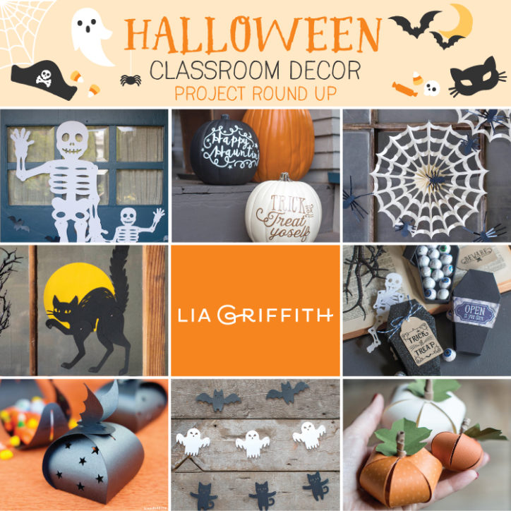 Classroom Halloween Decor ~ Halloween classroom decor ideas lia griffith