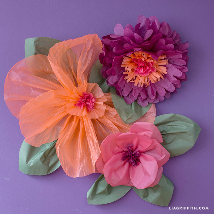 Jumbo tissue paper flowers lia griffith tissuejumboflowers mightylinksfo