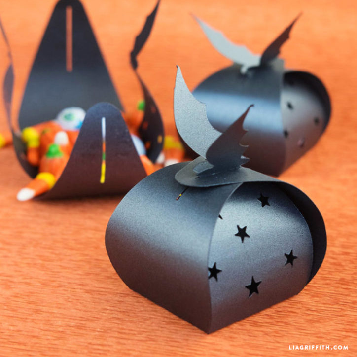 Papercut Bat Treat Boxes