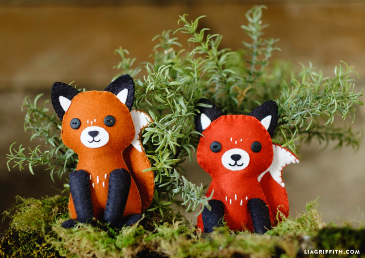 Felt Fox Stuffie