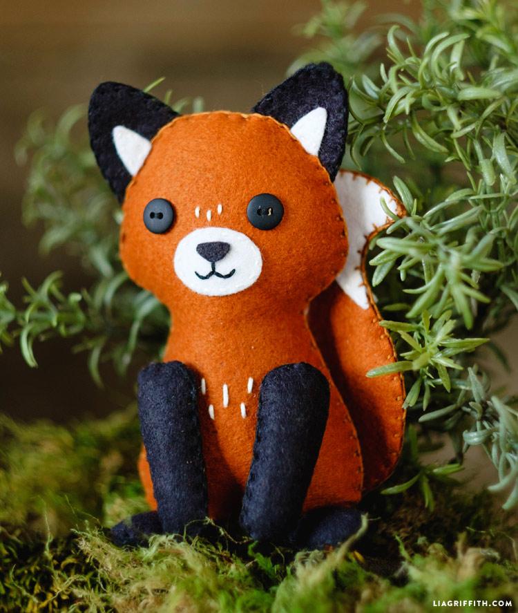 Felt Fox Stuffie