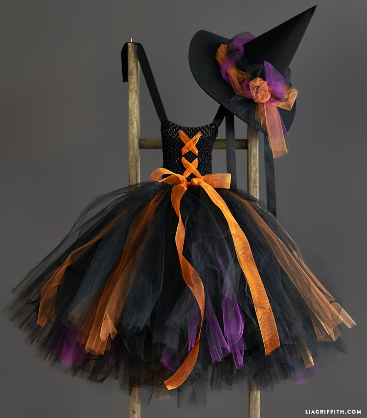 Kid's DIY Witch Costume - Lia Griffith