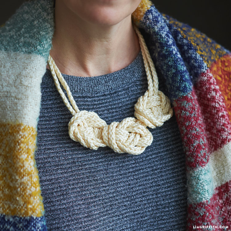 Diy Macrame Knot Necklace How To