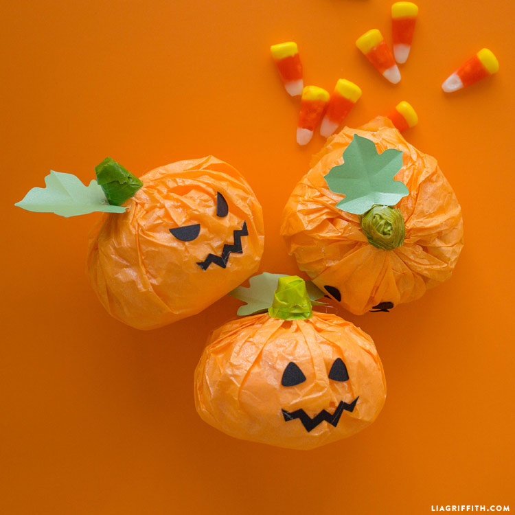 Halloween Treat Pumpkins