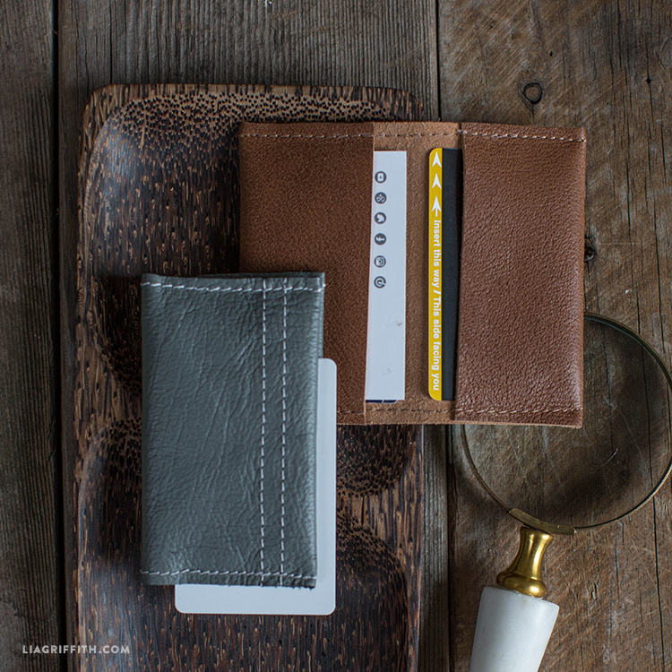 4a0ca3aed9931 Minimalist Leather Wallet - Lia Griffith