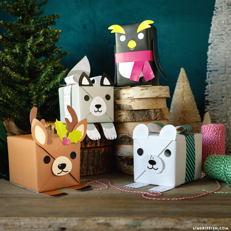 Polar Animal Gift Boxes