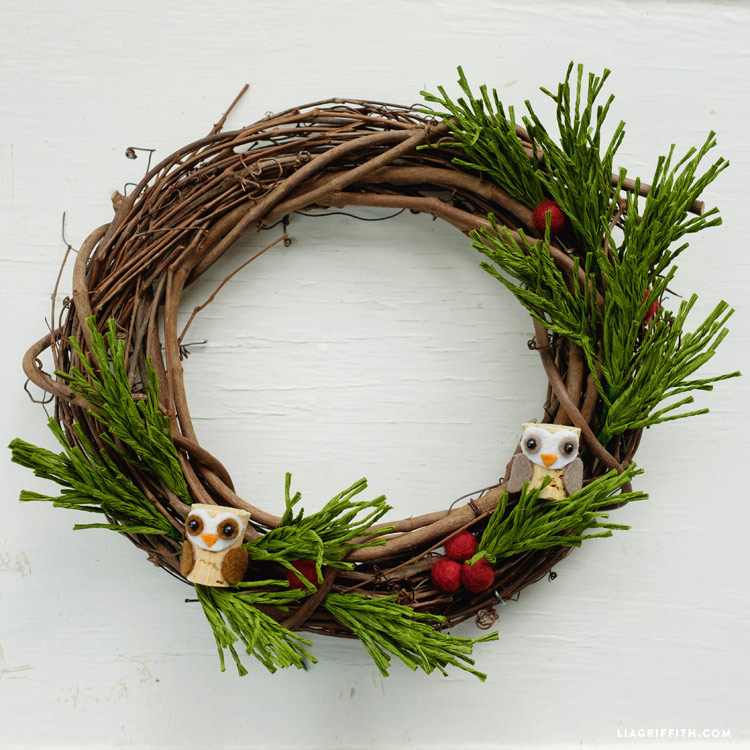 Pine Needle Wreath