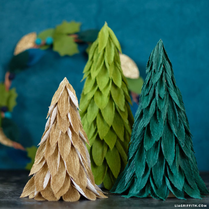 Christmas Tree Cones Diy Tutorial