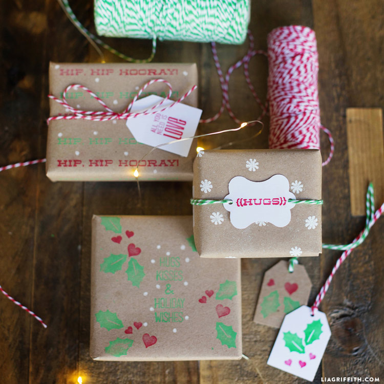 Diy Kid S Wrapping Paper Lia Griffith