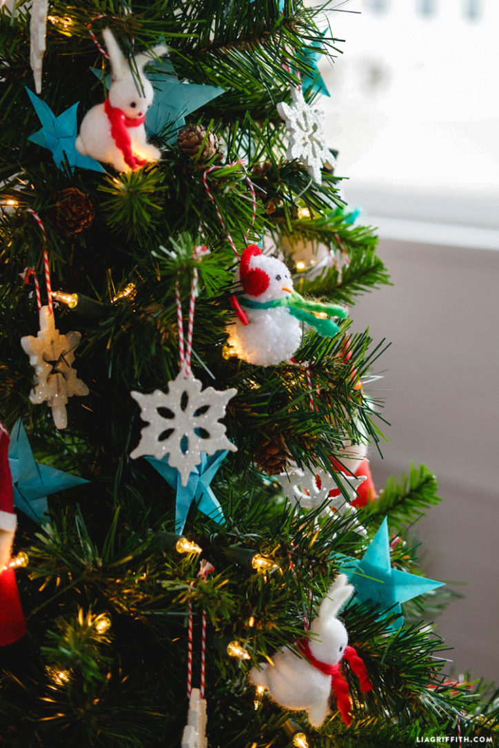 Simple Kids Christmas Tree Ideas - Lia Griffith