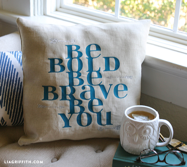 DIY Inspirational Pillow
