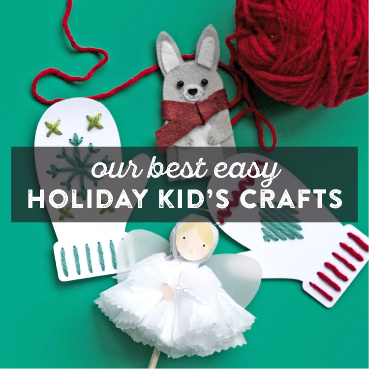 Easy Christmas Kids Crafts For Holiday Fun Lia Griffith