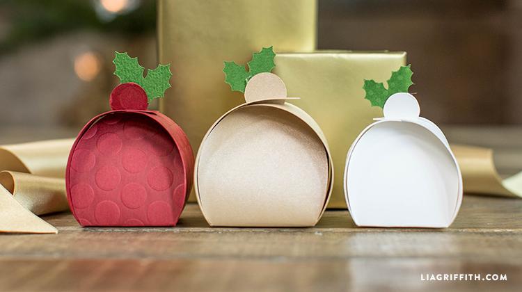 Diy christmas treat boxes printable crafts