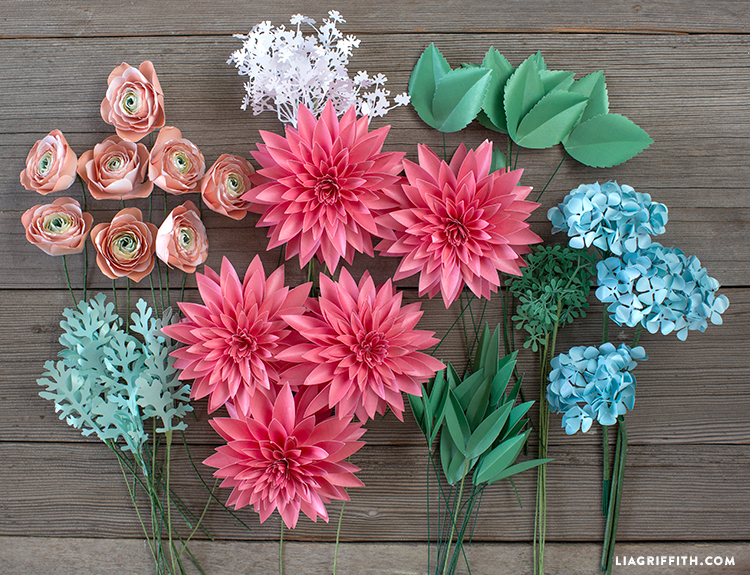 Make Gorgeous Paper Flowers with Our Paper Flower Craft Kits