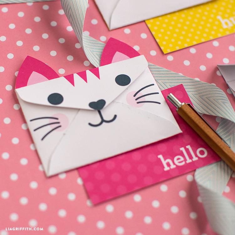Kitty Envelope