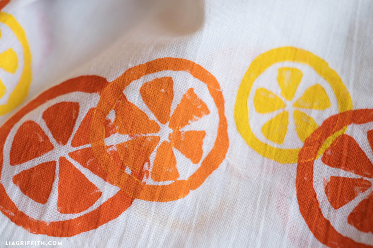 Citrus Tea Towels