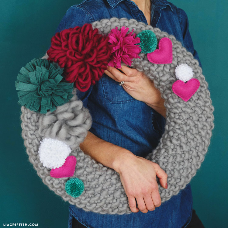 Knit Wreath