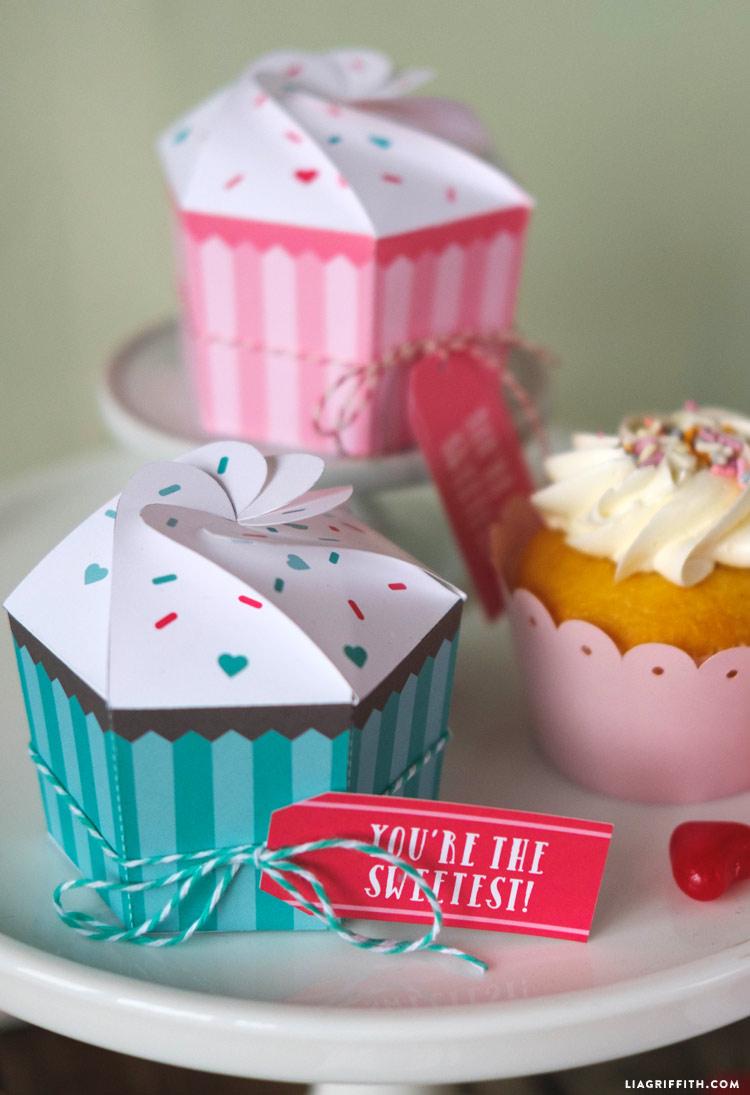 DIY Cupcake Boxes