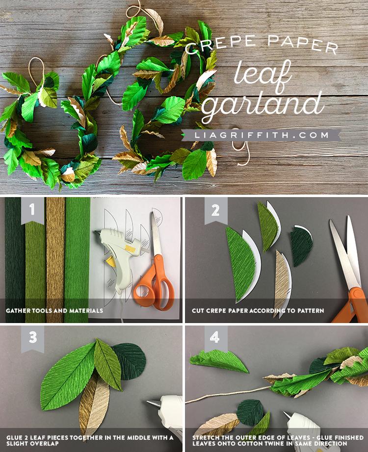 easy diy wedding greenery tutorial
