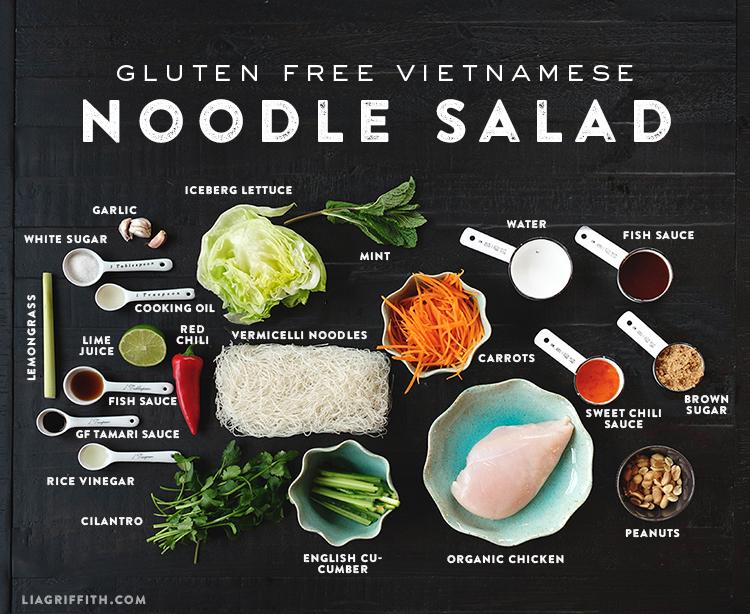 Vietnamese Noodle Salad Recipe