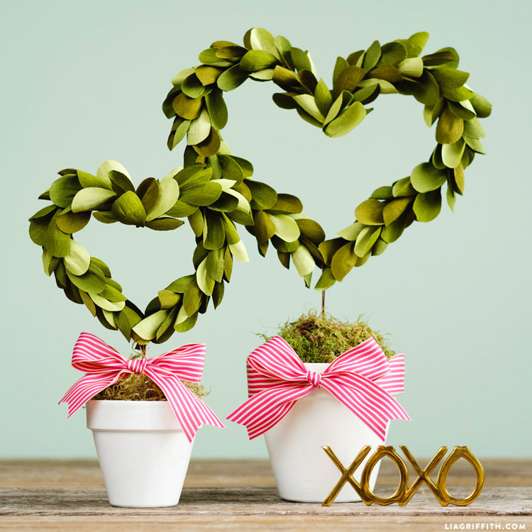 Heart Shaped Topiary
