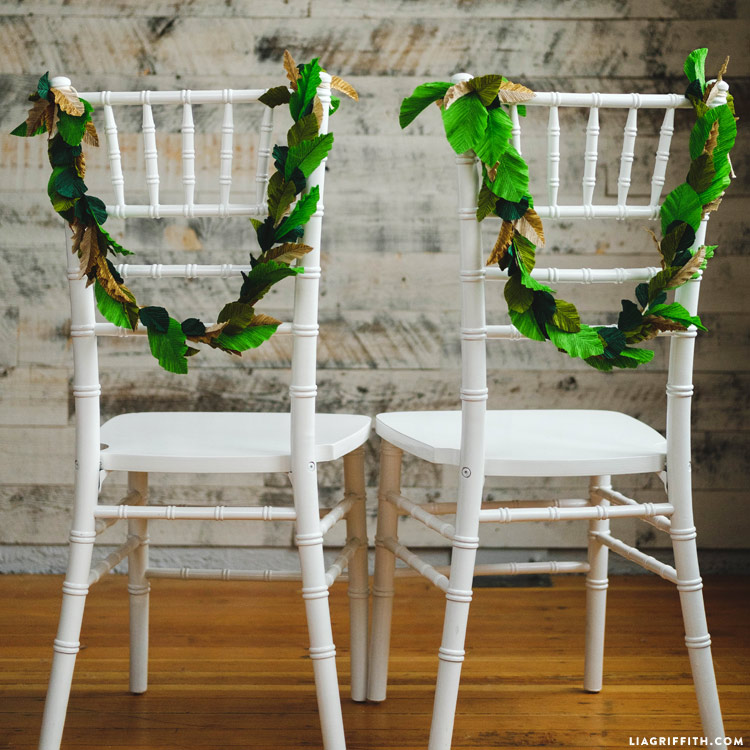 DIY Wedding Greenery