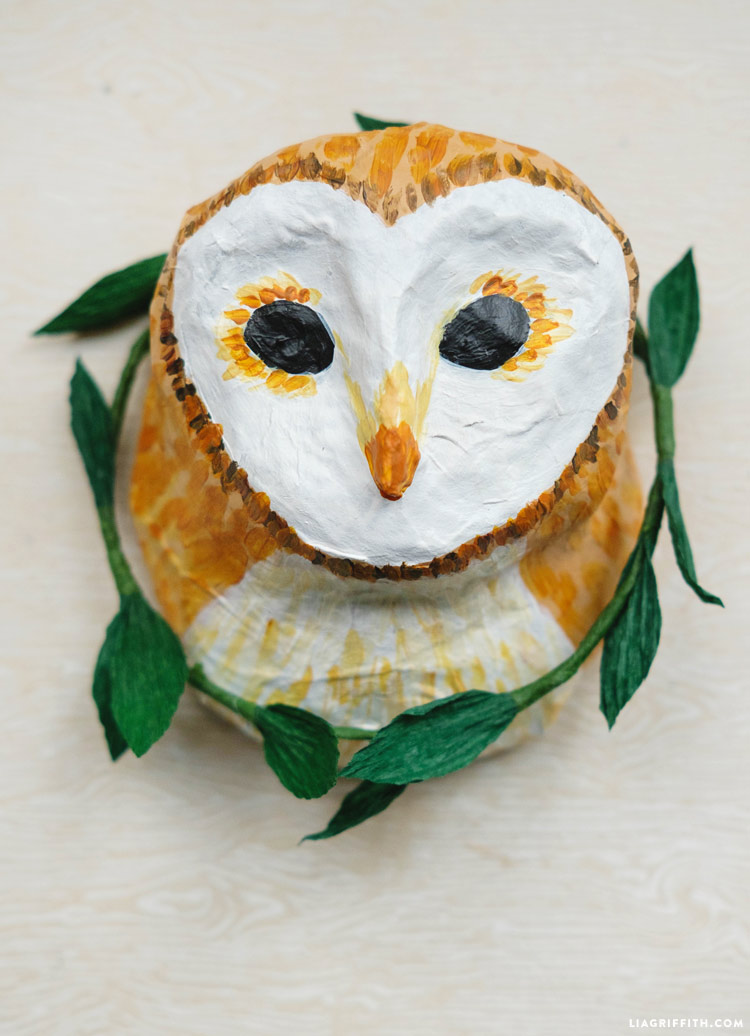 Paper mache animal ideas images for Making paper mache animals